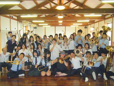 2009年8月20日 夏季合宿(須玉温泉・若神楼)にて